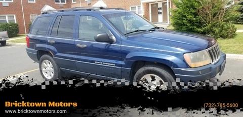 2001 Jeep Grand Cherokee for sale at Bricktown Motors in Brick NJ