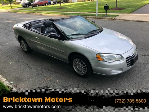 2005 Chrysler Sebring for sale at Bricktown Motors in Brick NJ