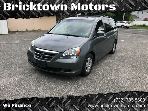 2007 Honda Odyssey for sale at Bricktown Motors in Brick NJ