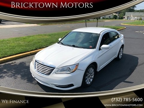 2014 Chrysler 200 for sale at Bricktown Motors in Brick NJ