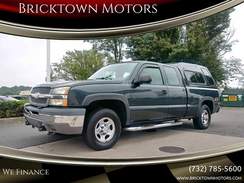 2004 Chevrolet Silverado 1500 for sale at Bricktown Motors in Brick NJ