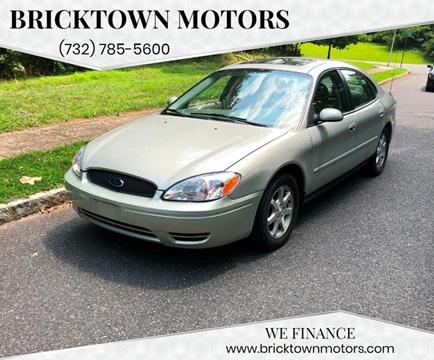2007 Ford Taurus for sale at Bricktown Motors in Brick NJ