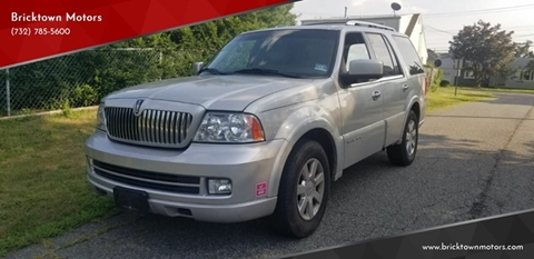 2006 Lincoln Navigator for sale at Bricktown Motors in Brick NJ