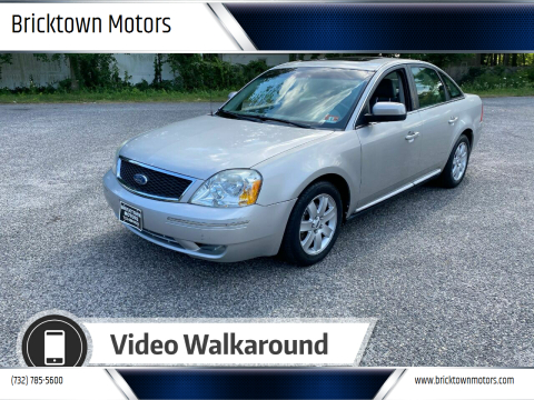 2006 Ford Five Hundred for sale at Bricktown Motors in Brick NJ