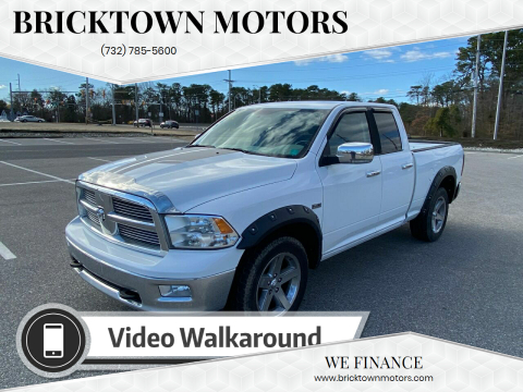 2011 RAM Ram Pickup 1500 for sale at Bricktown Motors in Brick NJ