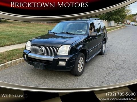 2008 Mercury Mountaineer for sale at Bricktown Motors in Brick NJ