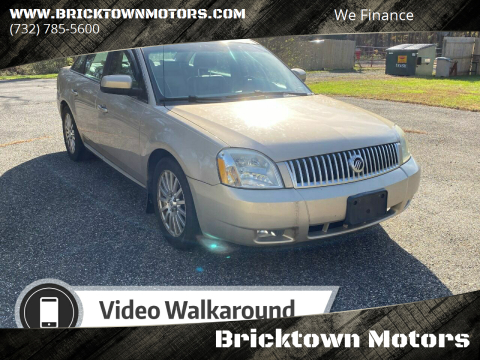 2007 Mercury Montego for sale at Bricktown Motors in Brick NJ