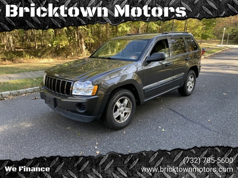 2005 Jeep Grand Cherokee for sale at Bricktown Motors in Brick NJ