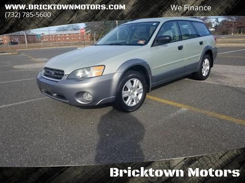 2005 Subaru Outback for sale at Bricktown Motors in Brick NJ