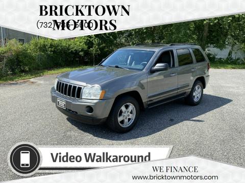 2007 Jeep Grand Cherokee for sale at Bricktown Motors in Brick NJ