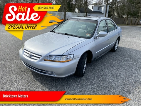 2002 Honda Accord for sale at Bricktown Motors in Brick NJ