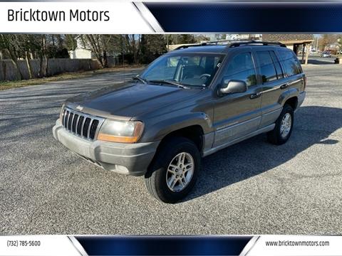 1999 Jeep Grand Cherokee for sale at Bricktown Motors in Brick NJ