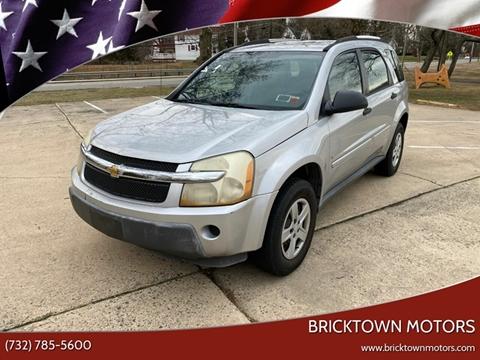 2006 Chevrolet Equinox for sale at Bricktown Motors in Brick NJ