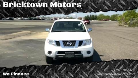 2012 Nissan Frontier for sale at Bricktown Motors in Brick NJ
