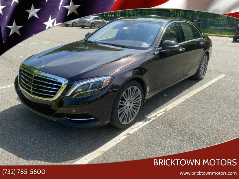2016 Mercedes-Benz S-Class for sale at Bricktown Motors in Brick NJ