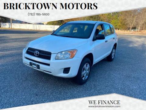 2010 Toyota RAV4 for sale at Bricktown Motors in Brick NJ