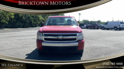 2008 Chevrolet Silverado 1500 for sale at Bricktown Motors in Brick NJ