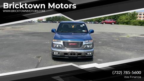 2012 GMC Canyon for sale at Bricktown Motors in Brick NJ