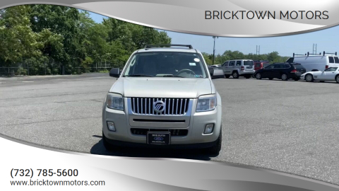 2009 Mercury Mariner for sale at Bricktown Motors in Brick NJ