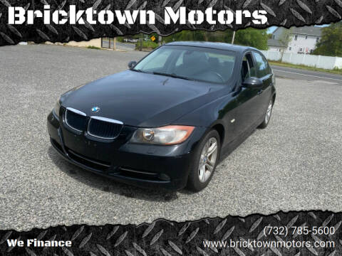 2008 BMW 3 Series for sale at Bricktown Motors in Brick NJ