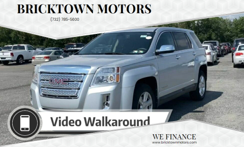 2010 GMC Terrain for sale at Bricktown Motors in Brick NJ