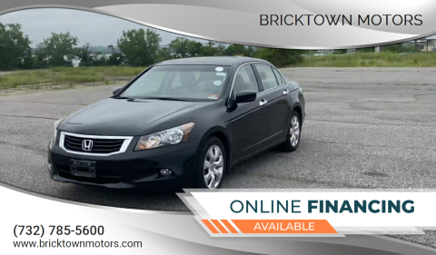 2010 Honda Accord for sale at Bricktown Motors in Brick NJ