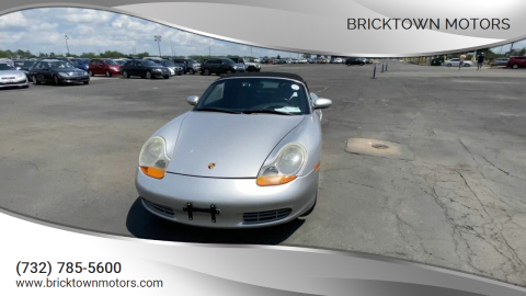 1999 Porsche Boxster for sale at Bricktown Motors in Brick NJ