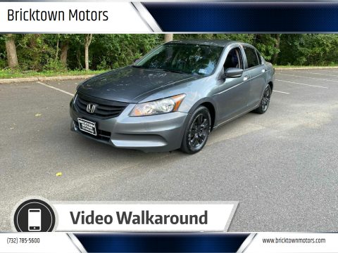 2012 Honda Accord for sale at Bricktown Motors in Brick NJ
