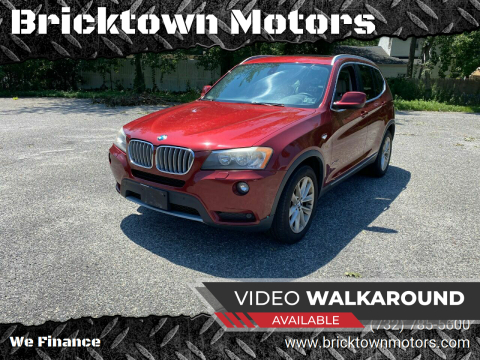 2011 BMW X3 for sale at Bricktown Motors in Brick NJ