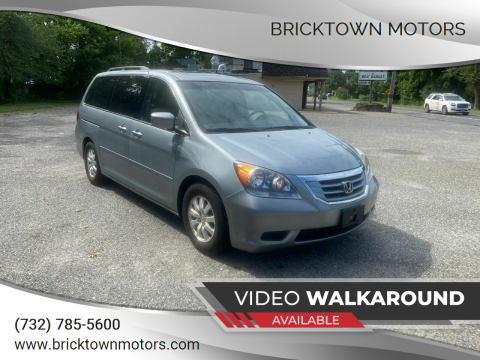 2009 Honda Odyssey for sale at Bricktown Motors in Brick NJ