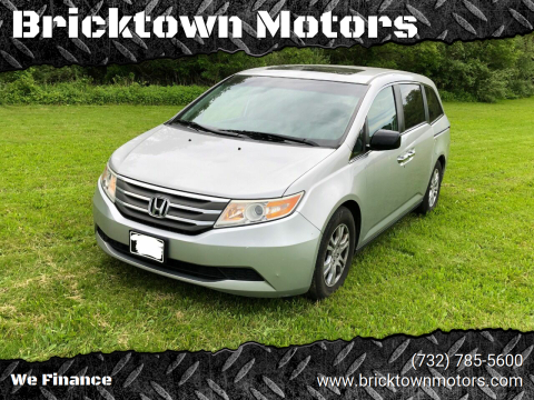 2011 Honda Odyssey for sale at Bricktown Motors in Brick NJ