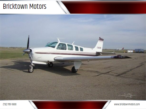 1977 BEECHCRAFT A36 BONANZA for sale at Bricktown Motors in Brick NJ
