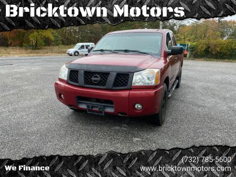 2005 Nissan Titan for sale at Bricktown Motors in Brick NJ