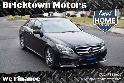 2014 Mercedes-Benz E-Class for sale at Bricktown Motors in Brick NJ