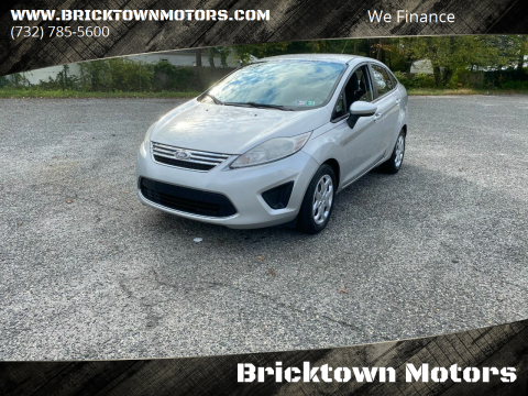 2011 Ford Fiesta for sale at Bricktown Motors in Brick NJ