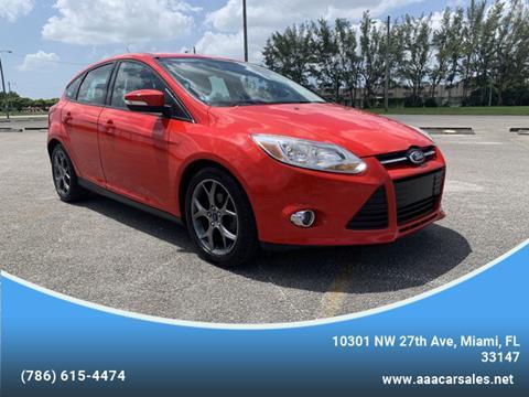 2014 Ford Focus for sale in Miami, FL