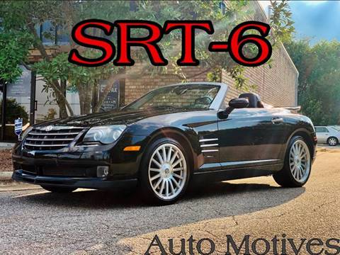 2005 Chrysler Crossfire SRT-6 for sale in Greensboro, NC