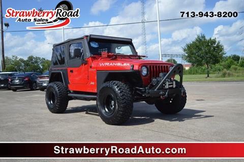2001 Jeep Wrangler for sale in Pasadena, TX