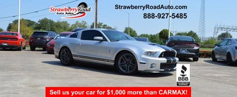 2010 Ford Shelby GT500 for sale in Pasadena, TX