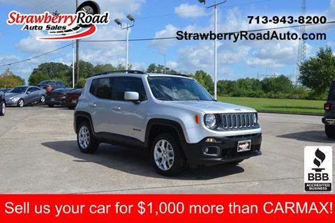 2017 Jeep Renegade for sale in Pasadena, TX