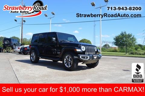 2019 Jeep Wrangler Unlimited for sale in Pasadena, TX