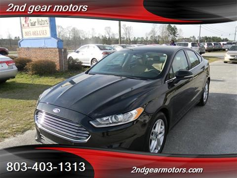 2014 Ford Fusion for sale in Lugoff, SC