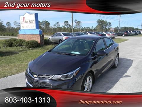 Car City Lugoff Sc >> Chevrolet Cruze For Sale In Lugoff Sc 2nd Gear Motors