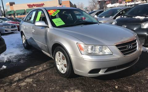2009 Hyundai Sonata for sale at Sanaa Auto Sales LLC in Denver CO