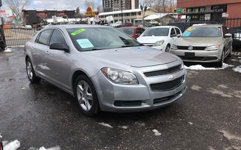 2012 Chevrolet Malibu for sale at Sanaa Auto Sales LLC in Denver CO
