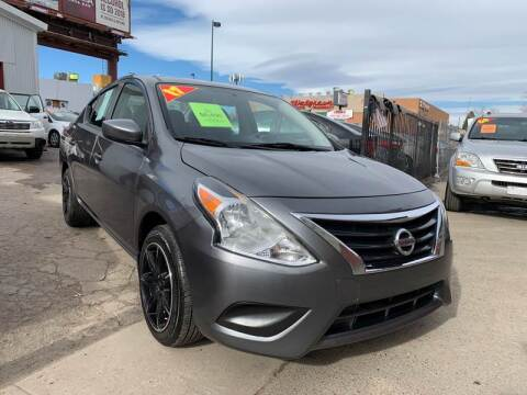 2017 Nissan Versa for sale at Sanaa Auto Sales LLC in Denver CO