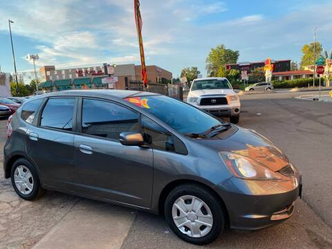 2013 Honda Fit for sale at Sanaa Auto Sales LLC in Denver CO