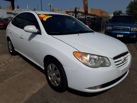 2010 Hyundai Elantra for sale at Sanaa Auto Sales LLC in Denver CO