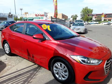 2017 Hyundai Elantra for sale at Sanaa Auto Sales LLC in Denver CO