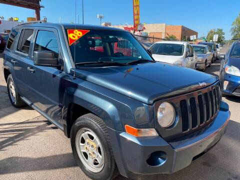 2008 Jeep Patriot for sale at Sanaa Auto Sales LLC in Denver CO